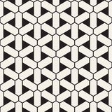 Картина вектора безшовная геометрическая Простые абстрактные линии решетка Повторение предпосылки элементов стильной иллюстрация вектора