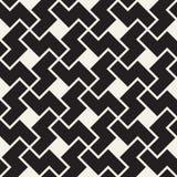 Картина вектора безшовная геометрическая Простые абстрактные линии решетка Повторение зигзага формирует крыть черепицей предпосыл иллюстрация штока