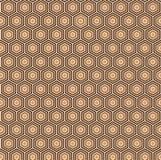 Картина вектора безшовная геометрическая для дизайна ткани Стоковое Изображение