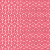 Картина вектора безшовная геометрическая для дизайна ткани Стоковые Изображения