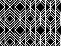 Картина вектора безшовная геометрическая Стоковые Фото