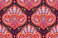 Картина вектора безшовная для шаблона дизайна; винтажное богато украшенное оформление; Восточный элемент стиля Роскошное восточно иллюстрация штока