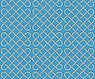 Картина вектора безшовная законспектированных веревочек Стоковое Изображение