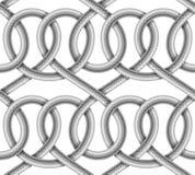 Картина вектора безшовная кабеля с оплеткой Иллюстрация вектора