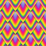 Картина вектора безшовная, масштаб радуги, красочная бесконечная предпосылка стоковая фотография rf