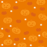 Картина вектора безшовная на хеллоуин Стоковое Изображение RF