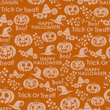 Картина вектора безшовная на хеллоуин Стоковые Фотографии RF