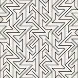 Картина вектора безшовная незаконная Современная абстрактная текстура Повторение геометрического состава от случайно размещаемых  иллюстрация штока
