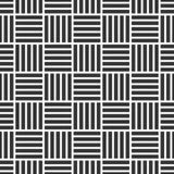 Картина вектора безшовная переплетаннсяых нашивок самомоднейшая стильная текстура Регулярное повторение striped квадратов иллюстрация штока