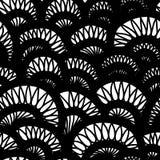 Картина вектора безшовная простая Повторять конспект Стоковое фото RF