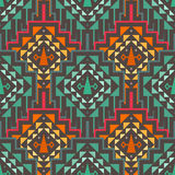 Картина вектора безшовная племенная Стоковое Изображение