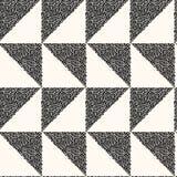 Картина вектора безшовная современная monochrome Стоковая Фотография RF