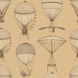 Картина вектора безшовная с воздушными шарами Стоковое фото RF