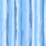 Картина вектора безшовная с голубыми ходами щетки бесплатная иллюстрация