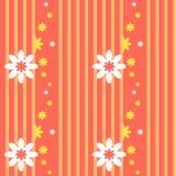 Картина вектора безшовная с флористическими элементами Стоковая Фотография RF