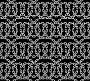 Картина вектора безшовная цепей Иллюстрация штока