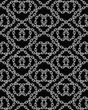 Картина вектора безшовная цепей Стоковые Изображения