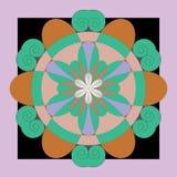 Картина вектора безшовная Стоковая Фотография RF
