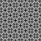 Картина вектора безшовной картины черно-белая бесплатная иллюстрация