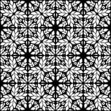 Картина вектора безшовной картины черно-белая иллюстрация штока