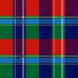 Картина вектора безшовной шотландской шотландки checkered бесплатная иллюстрация