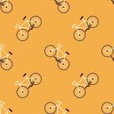 Картина вектора велосипеда Стоковые Изображения RF