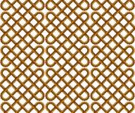Картина вектора веревочки безшовная Стоковые Изображения