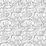 Картина вектора волны безшовная бесплатная иллюстрация