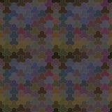 Картина вектора геометрическая с геометрическими формами Стоковое Фото
