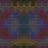 Картина вектора геометрическая Стоковое Фото