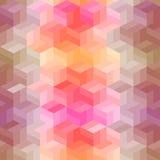 Картина вектора геометрическая Стоковое Изображение RF