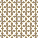 Картина вектора золотая безшовная в азиатском стиле Повторите орнаментальный дизайн Стоковые Изображения