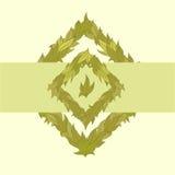 Картина вектора листьев Стоковая Фотография RF
