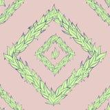 Картина вектора листьев Стоковые Изображения RF