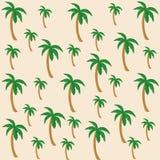 Картина вектора кокосовой пальмы иллюстрация вектора