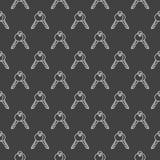 Картина вектора ключей Стоковое Изображение RF