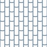 Картина вектора морского узла веревочки безшовная Иллюстрация штока