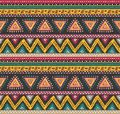 Картина вектора племенная striped безшовная иллюстрация вектора
