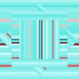 Картина вектора с выровнянными квадратами абстрактная зеленая текстура Стоковые Фото