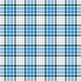 Картина вектора тартана безшовная Checkered текстура шотландки Геометрическая квадратная предпосылка для ткани иллюстрация вектора