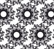 Картина вектора цветка безшовная Бесплатная Иллюстрация