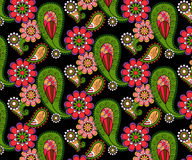 Картина вектора Doodles абстрактная флористическая Стоковое Изображение