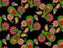 Картина вектора Doodles абстрактная флористическая Стоковые Фото