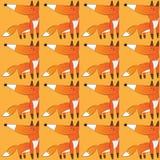 Картина вектора Fox Стоковое Изображение RF