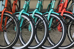 картина велосипедов Стоковое Изображение