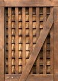 Картина двери амбара Стоковые Фото