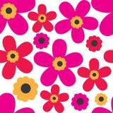 Картина весны с милыми бабочками Стоковое Изображение RF