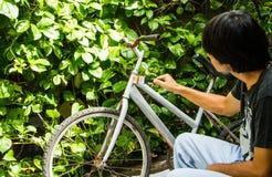 Картина велосипеда Стоковые Фото
