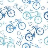 Картина велосипеда Стоковое Изображение
