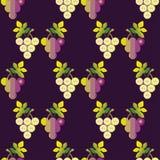 картина виноградины безшовная бесплатная иллюстрация